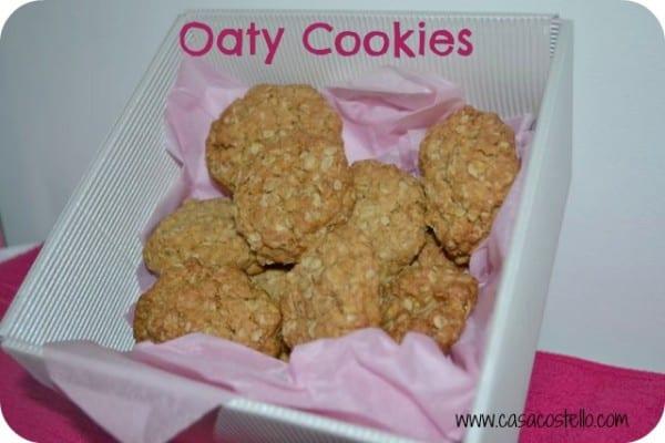 oat cookies biscuits