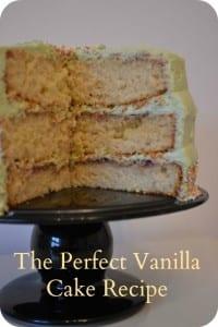 Costello Vanilla Sponge Cake