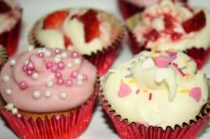 romantic cupcakes