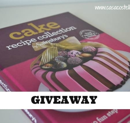 competition giveaway cake book