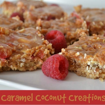 Caramel Coconut Creation – Bake of the Week