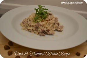 Duck & Hazelnut Risotto