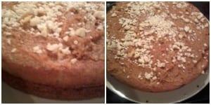 nutty banoffee cake