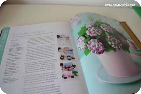 making a cupcake bouquet