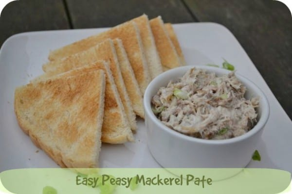 mackerel pate recipe