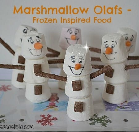 frozen olaf food