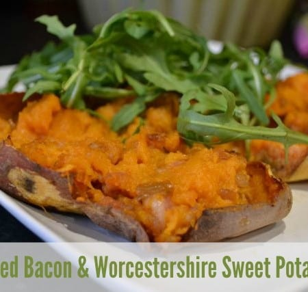 sweet potato bacon worcestershire sauce