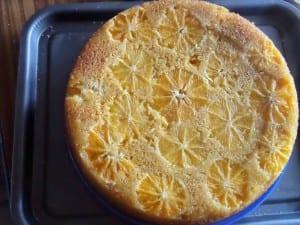 orange, polenta, olive oil, Cake