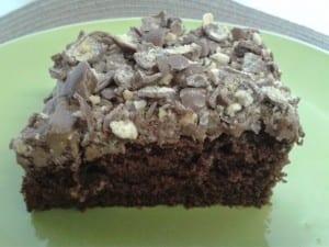 melatease chocolate Malt Cake