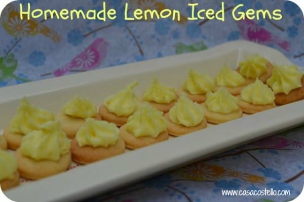 homemade iced gems recipe