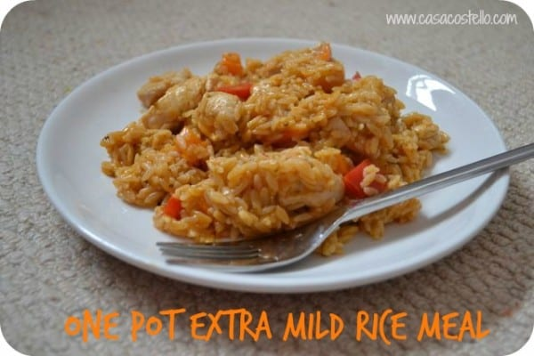 old el paso rice meal