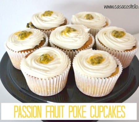 Passion Fruit Poke Cupcakes – Bake of the Week