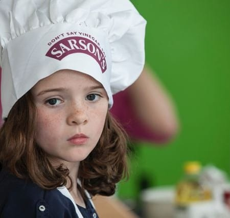 Cutest freckles ever on this chef!