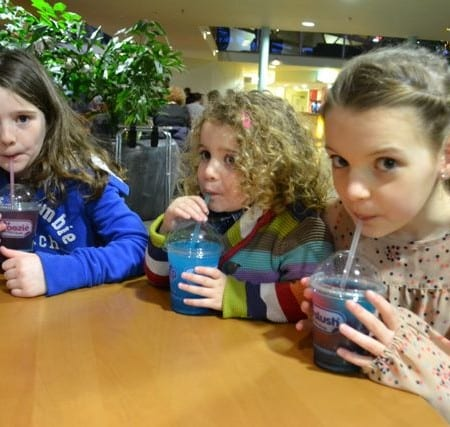 If we were at Center Parcs … Its all about the food!