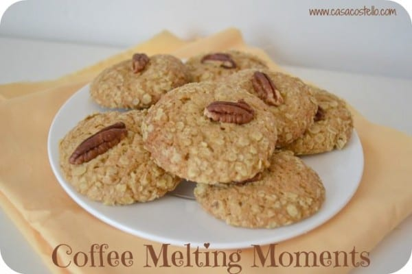 homemade coffee melting moments biscuits
