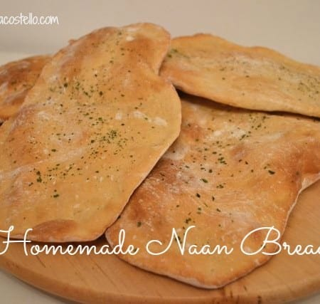 Homemade Naan Breads – Bake of the week
