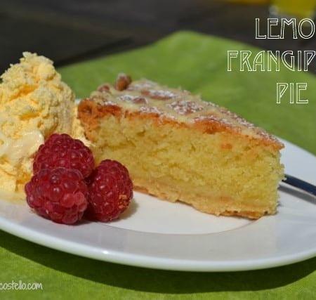 lemon frangipane pie bake of the week