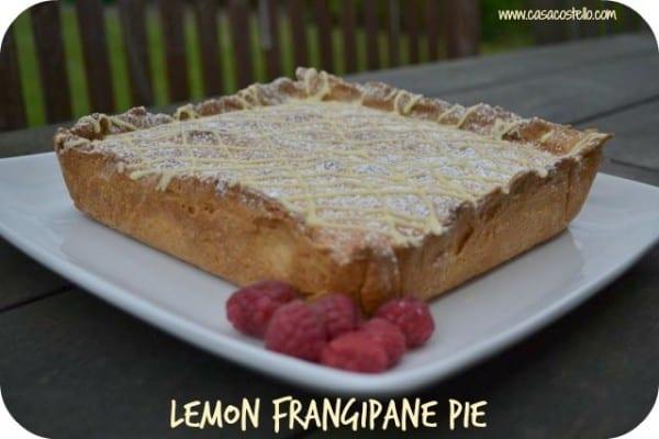 lemon frangipane pie