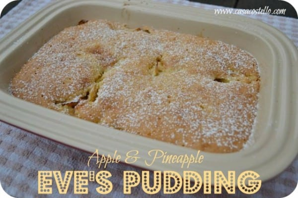 apple pineapple eve's pudding cake