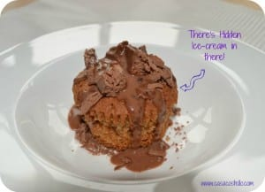 Cadbury's Twirl Hidden Ice-Cream Cupcakes