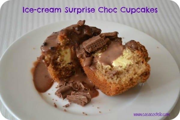 hidden ice-cream cupcakes