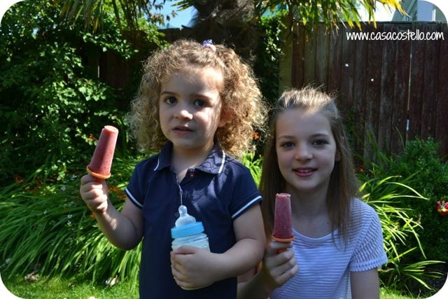 Homemade Ice Lollies: Peach Melba Smoothies – Center Parcs Family Blogger Challenge