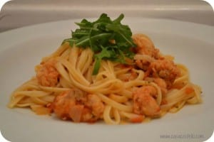 Monkfish Linguini