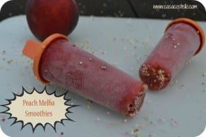 Peach Melba Smoothies