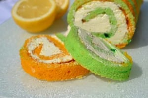 Lemon & Lime Swiss Roll