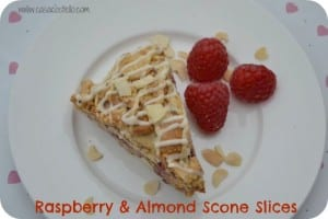 Raspberry & Almond Scones