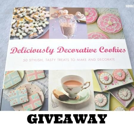 decorated cookies book giveaway