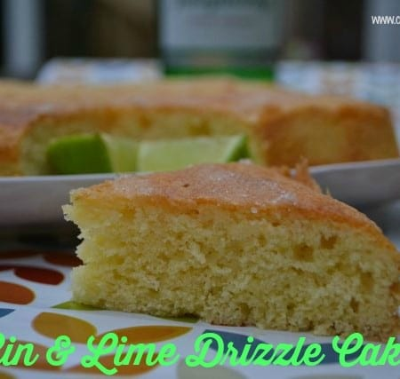 gin lime drizzle cake recipe