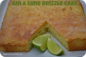 Gin & Lime Drizzle Cake