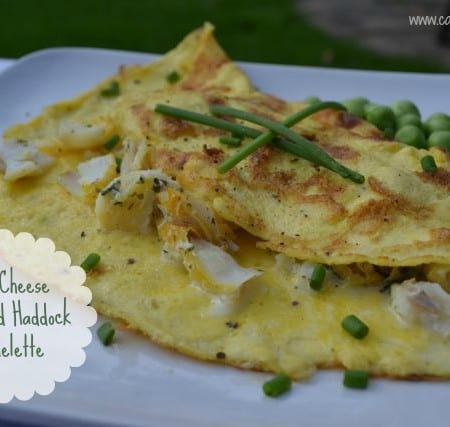 No-Cheese Smoked Haddock Omelette – Cage Free Eggs from Sainsburys