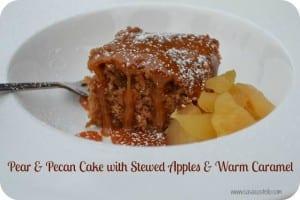 Pear Pecan Cake