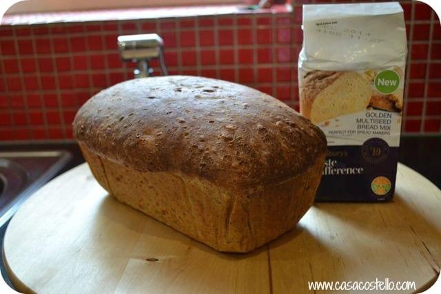 sainsburys bread mix