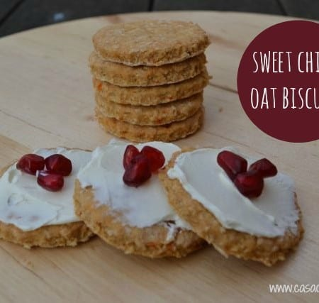 Sweet Chilli Oat Biscuits – Bake of the Week