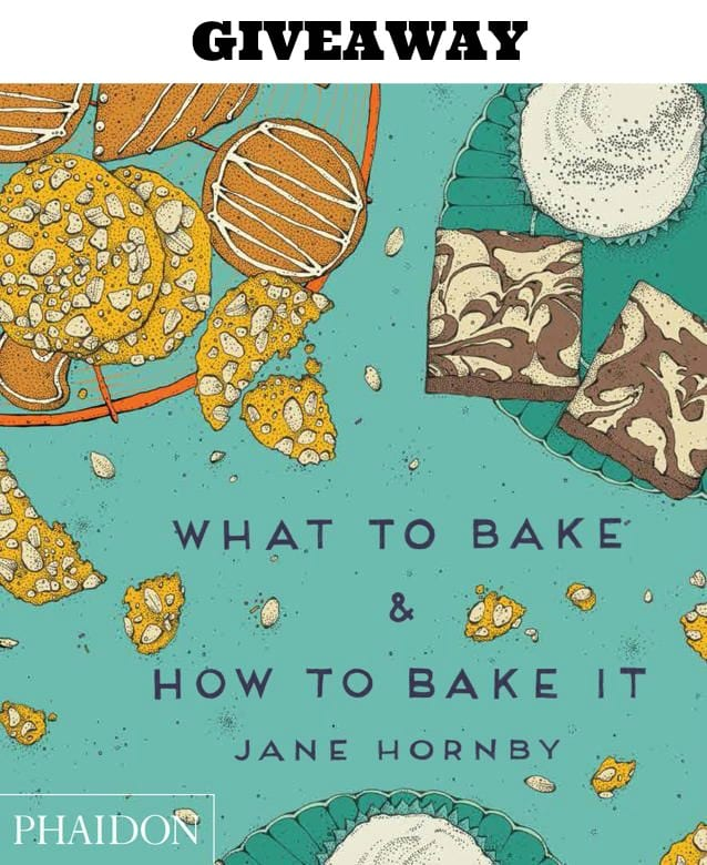 baking book giveaway