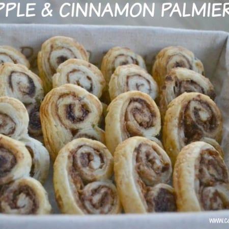 apple cinnamon palmiers