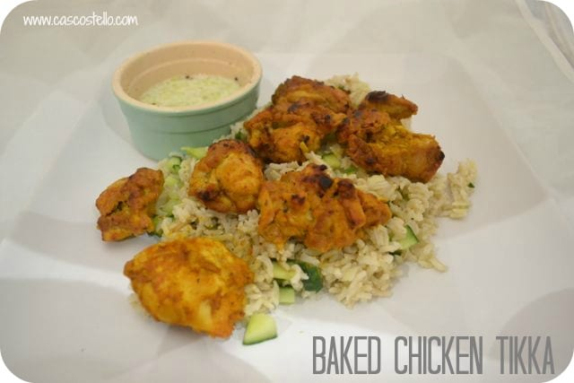 baked chicken tikka