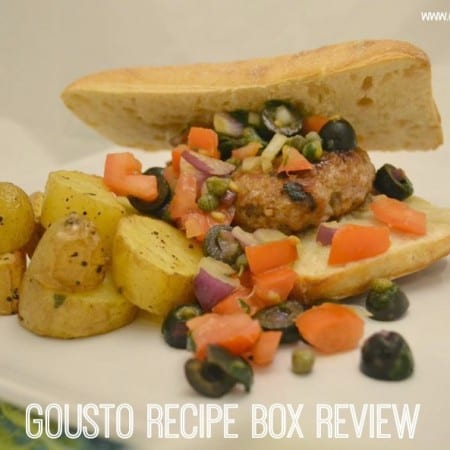Gousto – Home Recipe Kit Box Review