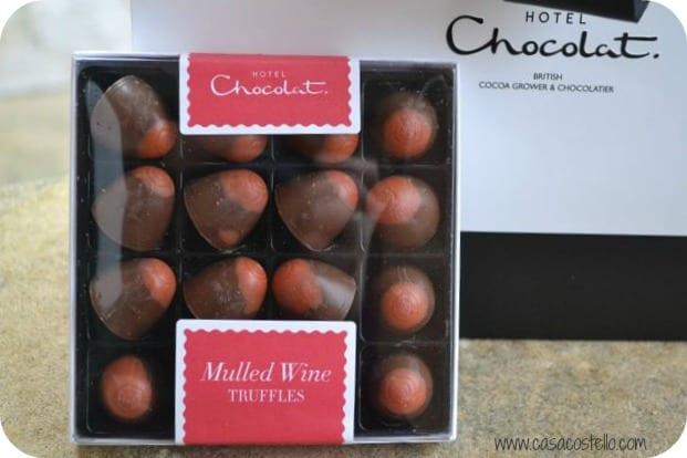 mulled wine mini domes hotel chocolat