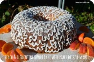 Peach & Clementine Bundt Cake