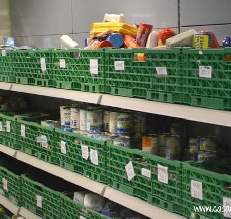 behind the scenes at the food banks