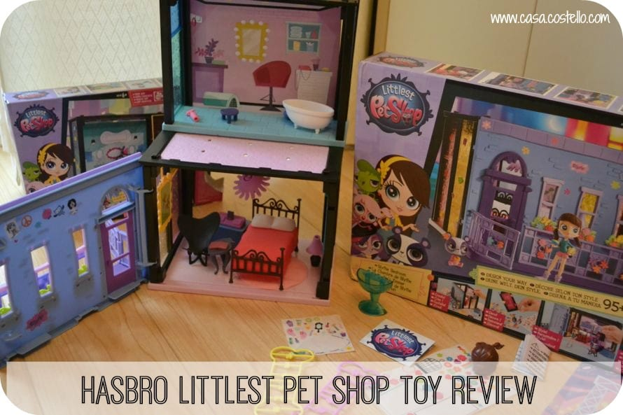 hasbro littlest pet shop toy review