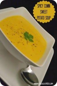 Spicy Cumin Sweet Potato Soup