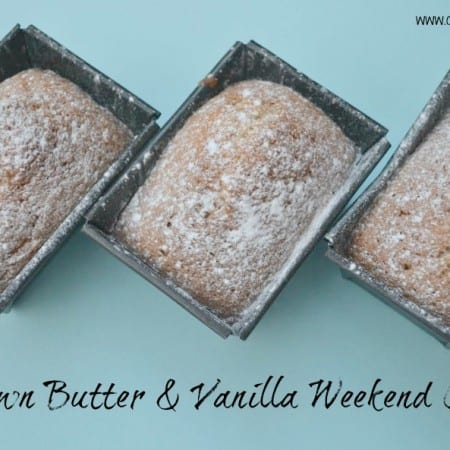 Brown Butter & Vanilla Weekend Cake – Bake of the Week