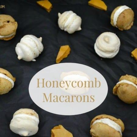 honeycomb macarons recipe