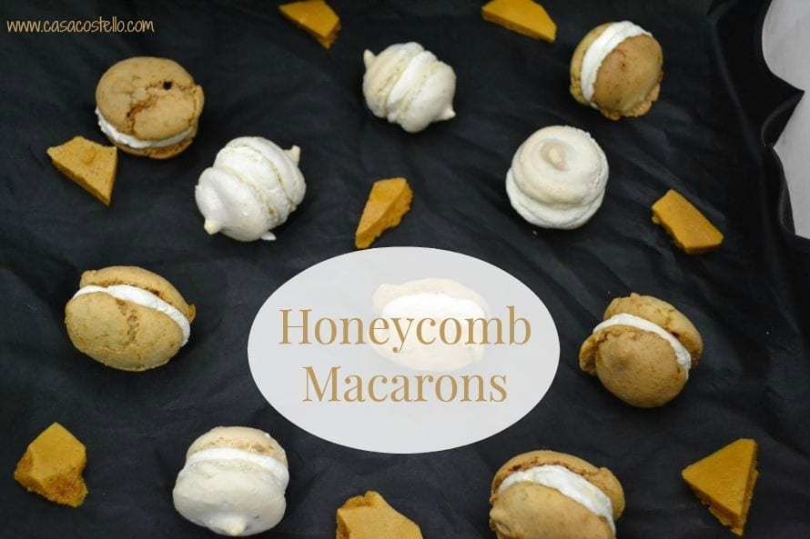 honeycomb macarons recipe