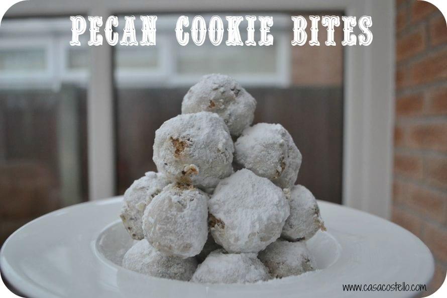 pecan cookie bites foodie friday
